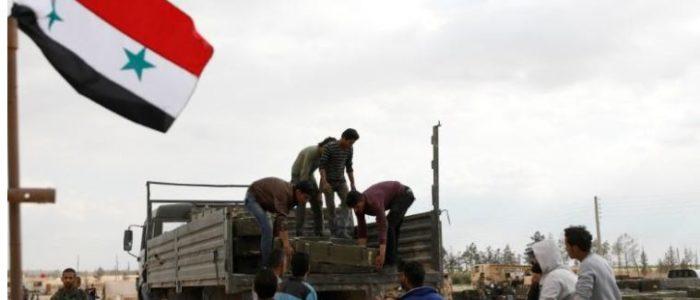 شمال شرقي دمشق بات خاليا من مقاتلي المعارضة