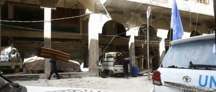 """خبراء """"حظر الكيميائي"""" يقومون بزيارة ثانية إلى دوما السورية"""
