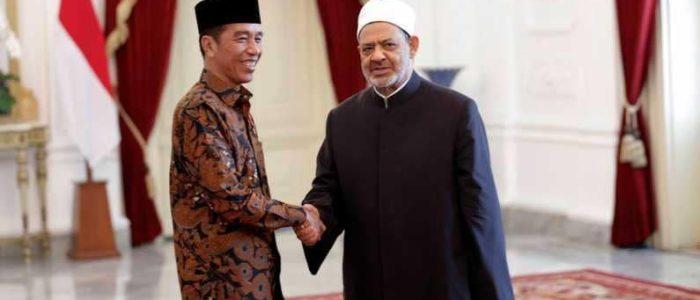 شيخ الأزهر يبحث تحديات العالم الإسلامي في إندونيسيا