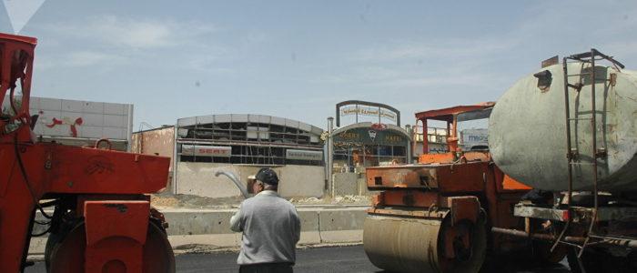 إعادة تأهيل طريق حرستا بعد تحرير الغوطة الشرقية من الإرهاب
