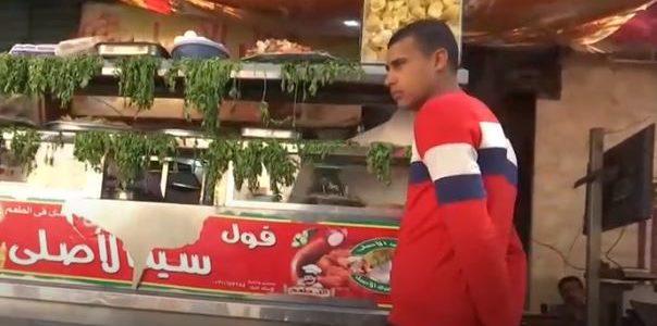 """أجهزة """" """"جي بي إس"""" على عربات بيع الفول في مصر"""