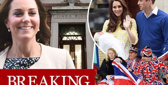 دوقة كامبريدج تضع مولودها الثالث في عيد القديس جورج