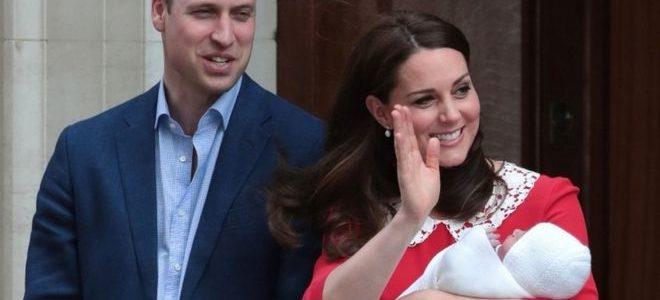 دوقة كامبريدج تغادر المستشفى بعد وضع مولودها الثالث