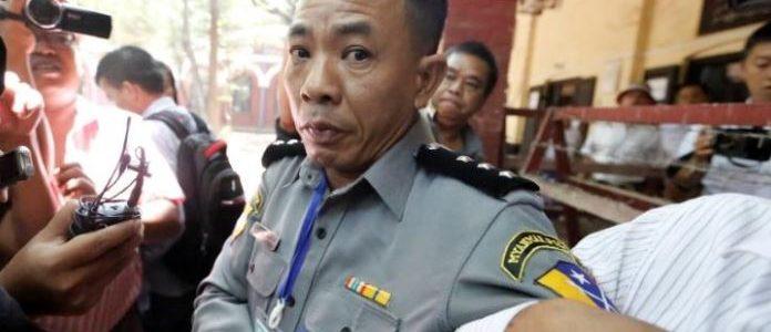 شرطة ميانمار: السجن لشرطي شهد بأن السلطات رتبت للإيقاع بمراسلي رويترز
