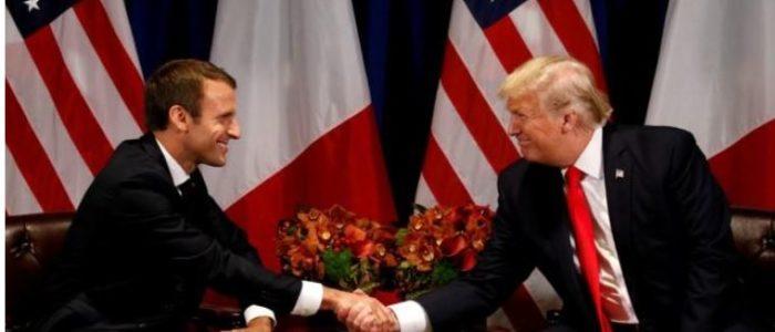 سحر ماكرون ربما يؤثر علي ترامب بشأن سوريا والاتفاق النووي