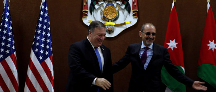 """مايك بومبيو: حل الدولتين """"احتمال"""" لحل شامل بين الفلسطينيين والإسرائيليين"""