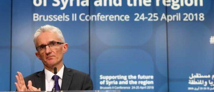 تعهدات دولية بتقديم 4.4 مليارات دولار من أجل الشعب السوري