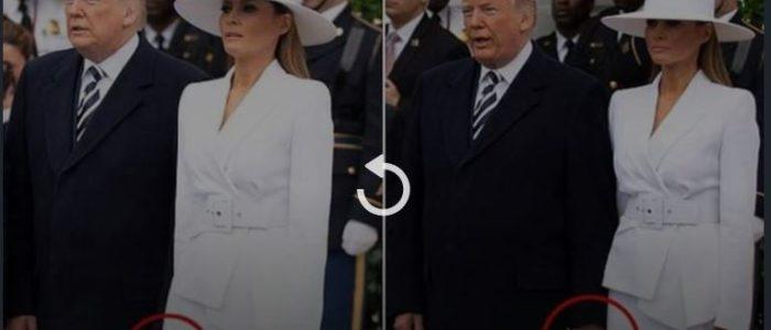 ميلانيا تحرج ترامب بحضور ماكرون وزوجته