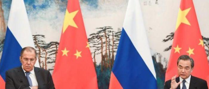 وزيرا الخارجية الروسي والصيني يبحثان زيارة بوتين للصين في يونيو