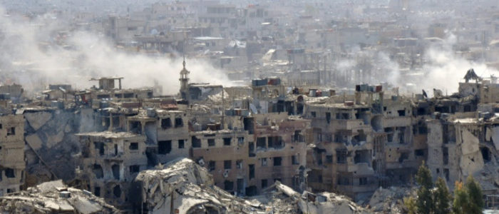 الجيش السوري يعثر على مخبأ سري للمسلحين في دمشق