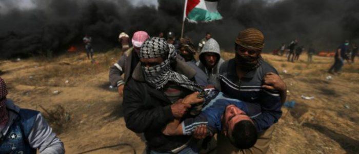 قوات إسرائيلية تقتل 3 محتجين وتصيب 600 في غزة