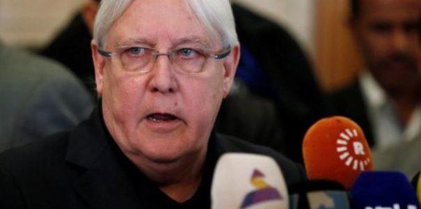 حكومة هادي تتهم الأمم المتحدة بالانحياز وعدم الجدية وجريفيث يتوجه إلى الرياض