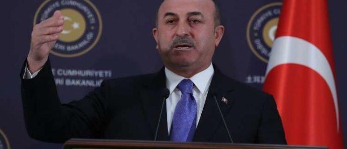 وزير خارجية تركيا: أي حل عسكري في سوريا سيكون غير قانوني