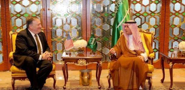بومبيو يصل الرياض في مستهل جولة بالشرق الأوسط