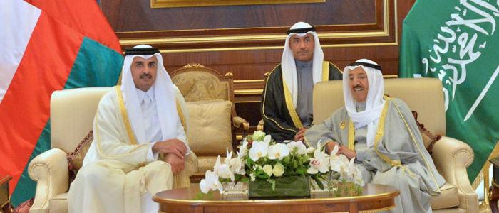 تزامنا مع زيارة أمير قطر للكويت… ماذا جرى في قصر الملك سلمان؟