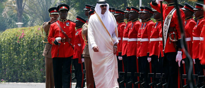 خطوة هي الأولى من أمير قطر منذ بدء المقاطعة
