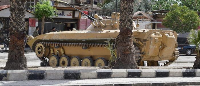 الجيش السوري يتقدم في مواجهة مقاتلي المعارضة في درعا