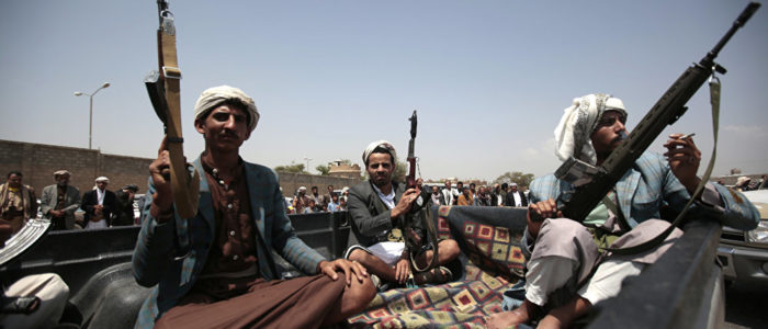 """""""الحوثيون"""" يسقطون طائرة استطلاع تابعة للتحالف بقيادة السعودية"""