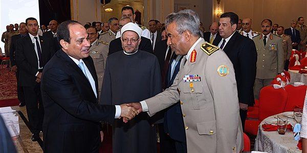 حفل إفطار القوات المسلحة بمشاركة الرئيس السيسي