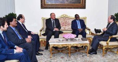 السيسى يؤكد قناعة مصر الراسخة بمحورية واستراتيجية العلاقات مع السودان