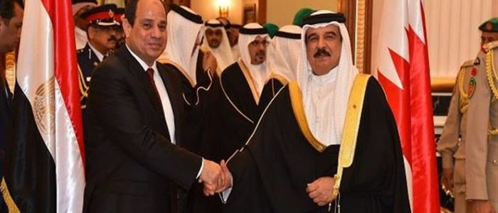 ملك البحرين يهنئ السيسي بشهر رمضان
