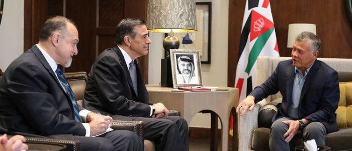 العاهل الأردني لنواب أمريكيين: نرفض التصعيد والعنف الإسرائيلي ضد غزة