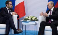 قمة روسية فرنسية لبحث قضايا دولية
