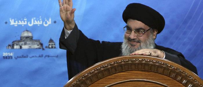 """حسن نصرالله: طهران قادرة على قصف إسرائيل """"بشراسة"""" في حال اندلاع حرب أمريكية ضد إيران"""