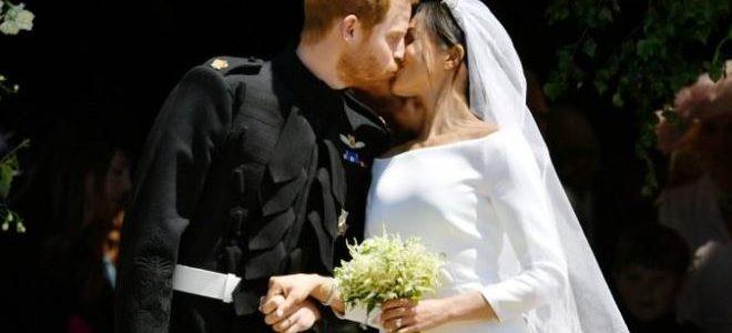 زواج الأمير هاري والممثلة الأمريكية ميجان ماركل في حفل مبهر شاهده الملايين