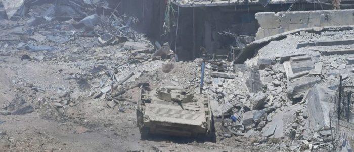 مقتل 70 من المعارضة السورية في معارك بالجنوب