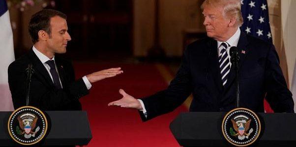 ترامب طلب من ماكرون الخروج من الاتحاد الأوروبي