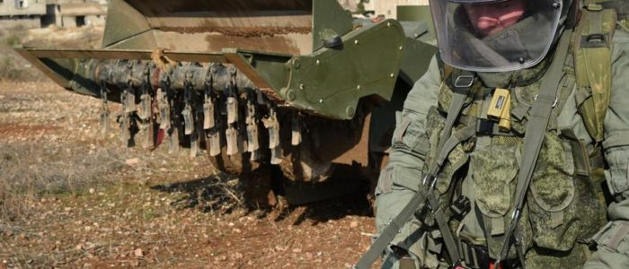 روسيا ترسل جيشاً آلياً من المركبات والطائرات دون طيار لسوريا بحلول نهاية 2018
