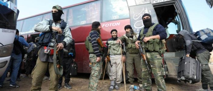 تحرير الشام تؤيد الهجوم التركي علي الأكراد