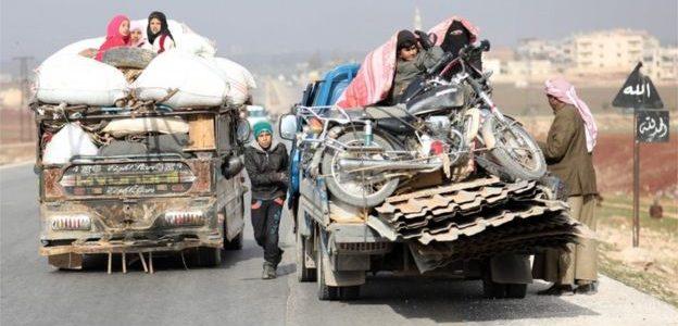 في منطقة القتل السورية تبزغ قوة جديدة: النساء في أدلب