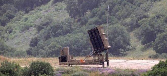 إسرائيل تطلق صاروخ باتريوت علي طائرة دون طيار قادمة من سوريا