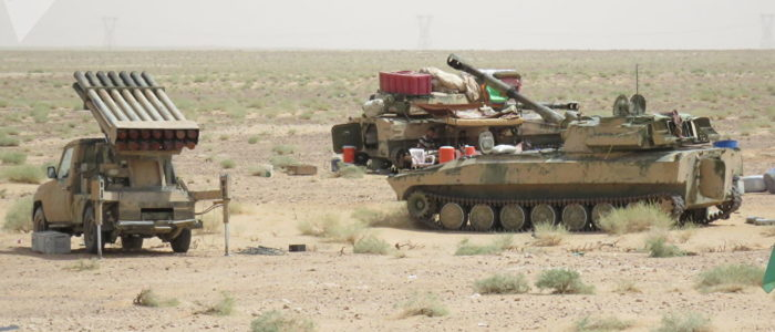 """الجيش السوري يتصدى لهجوم نفذه """"داعش"""" في البادية"""