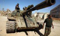 الجيش الليبى يعلن تقدمه فى محور العزيزية قرب طرابلس
