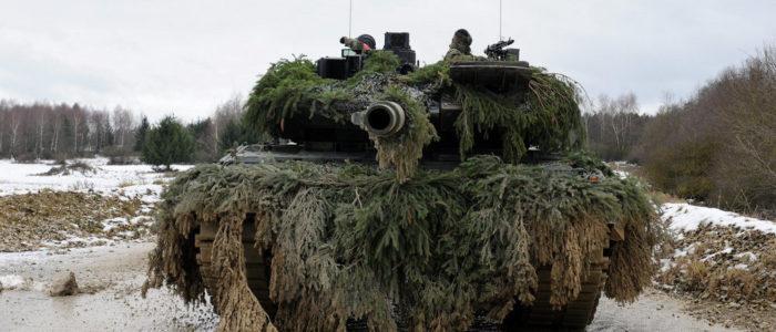 """بعد الوصول إلى سوريا دبابة """"ليوبارد"""" القاهرة تصير ضحية"""