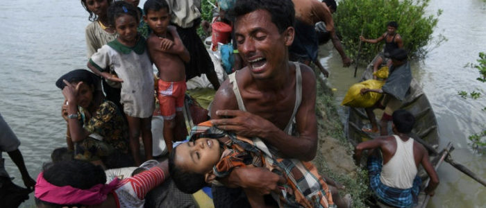 """الروهينجا يطالبون """"بالعدالة"""" بعد عام على الحملة التي أجبرتهم على النزوح من بورما"""