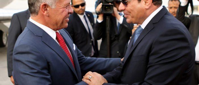 السيسي والعاهل الأردني: لتسوية القدس ضمن قضايا الوضع النهائي