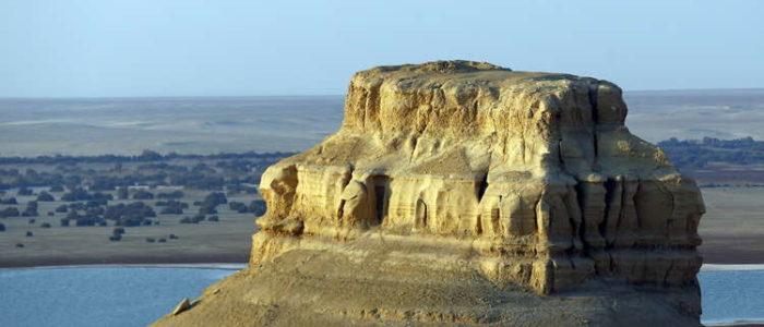 اكتشاف جديد للغاز في صحراء مصر الغربية