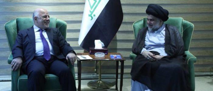 العبادي والصدر يبحثان شكل الحكومة العراقية القادمة