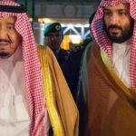 الملك سلمان ينيب ولي العهد  الأمير محمد بإدارة البلاد قبل سفره إلي مصر