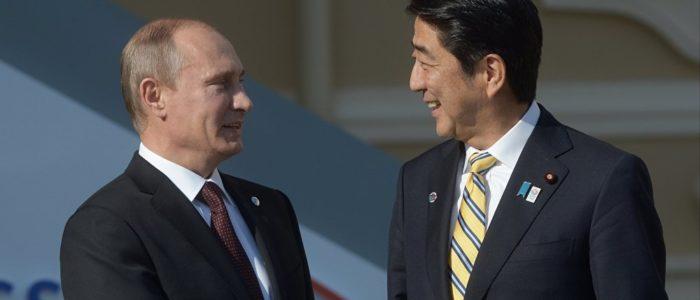 بوتين: المحادثات مع رئيس الوزراء الياباني كانت بناءة وذات طابع تجاري
