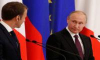 بوتين لماكرون: روسيا على استعداد لحماية أوروبا