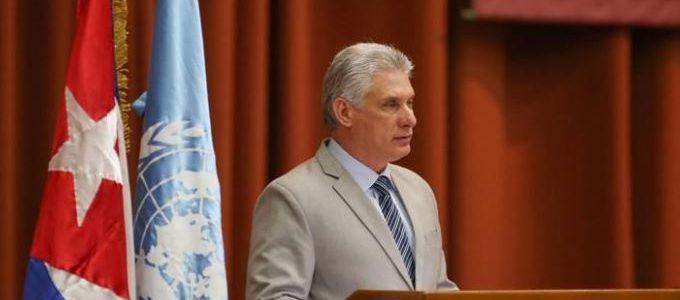 """زعيم كوبا الجديد يصل إلى فنزويلا في زيارة """"تضامنية"""""""