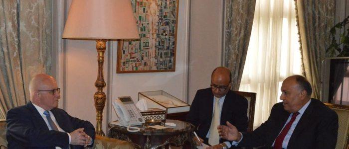 ألمانيا مستعدة لدعم مصر في تأمين الحدود الغربية والجنوبية