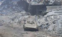 الجيش السوري يستعيد آخر منطقة للمعارضة قرب دمشق
