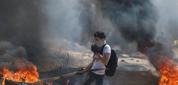 استشهاد فلسطيني وإصابة 3 في غارة إسرائيلية على قطاع غزة