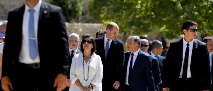 الأمير وليام يبدأ جولته في إسرائيل بتكريم ضحايا المحرقة